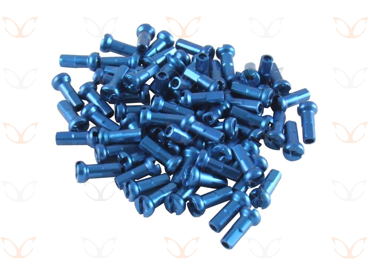 75-Alloy-Anodized-Coloured-Spoke-Nipples-Enough-for-2-Wheels-7075-Alloy-14Gx12mm